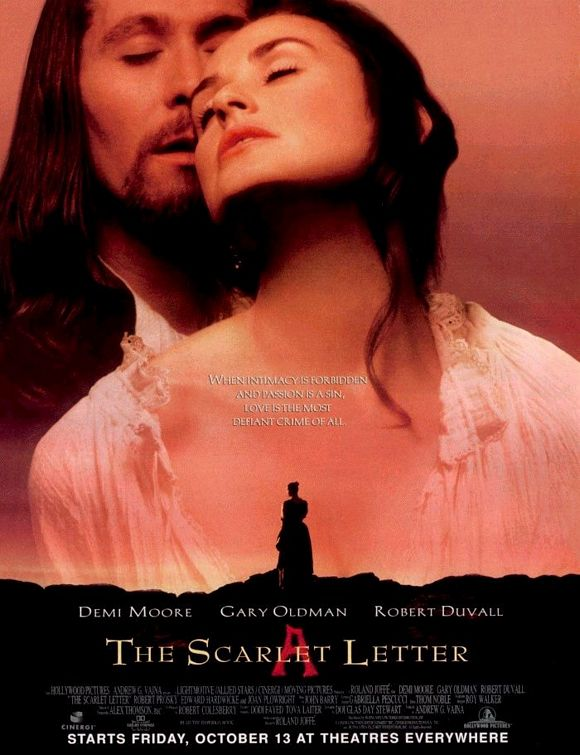 The Scarlet Letter starring Demi Moore & Gary Oldman: When Adultery Is ...