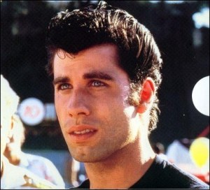 John Travolta as Danny Zuko in Grease